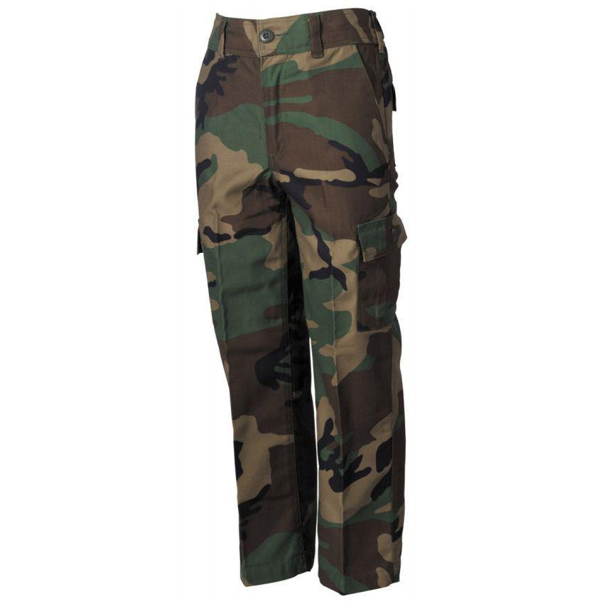 Dětské kalhoty MFH Woodland