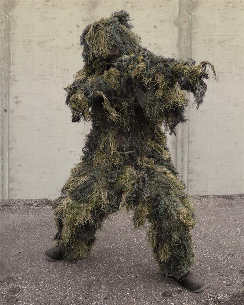 Hejkal (maskovací oblek) ANTI FIRE woodland
