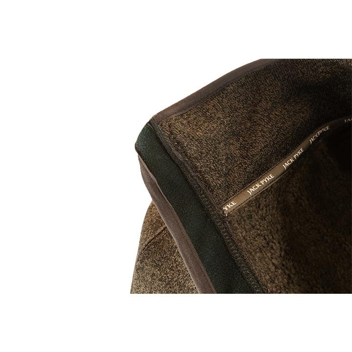 Pletená mikina Weardale hnědá