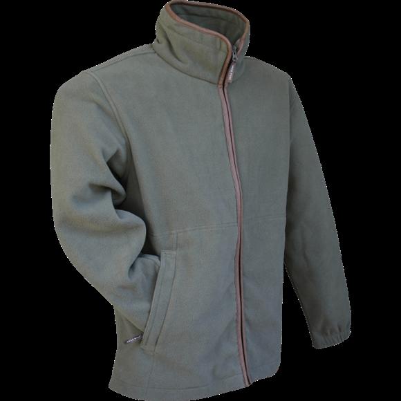 Countryman Fleece bunda - světle olivová