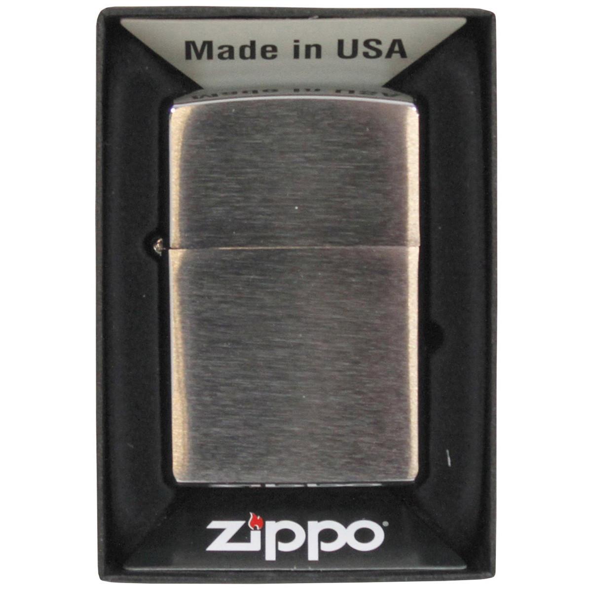 Zapalovač Zippo Chrom
